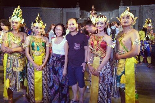 Ramayana dancers