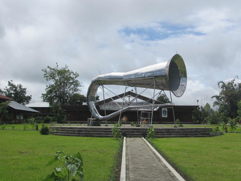 a very big horn