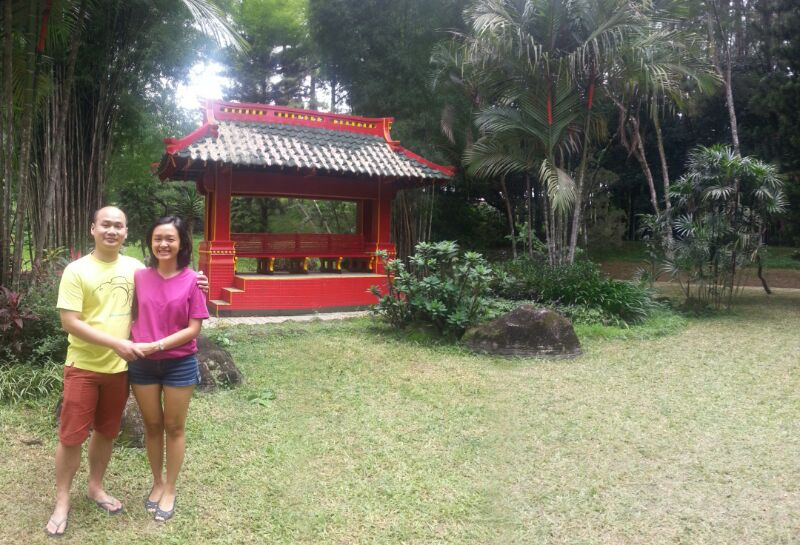 at Roncalli Salatiga, a nice green complex where my dad learnt English back in the 70s.
