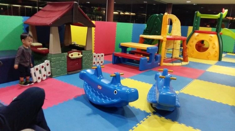 play area at Jakarta Airport