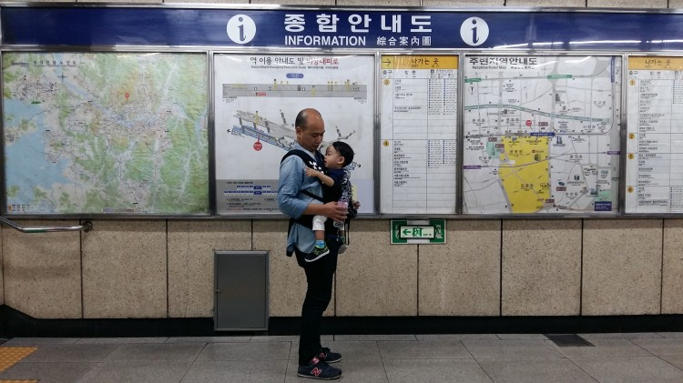 subway in Seoul