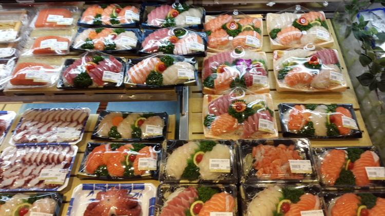 lotte mart sushi